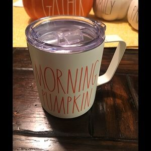 NWT Rae Dunn Morning Pumpkin Mug